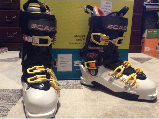 Ski Boots - Scarpa MAESTRALE RS