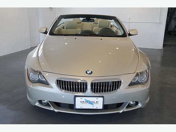 2004 BMW 645i - Manual Transmission, Super Low K