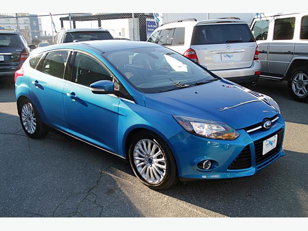 2012 Ford Focus Titanium - One owner, no accidents, low k