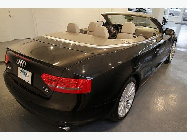 2010 Audi A5 Quattro Cabriolet - Local BC Car, Low K