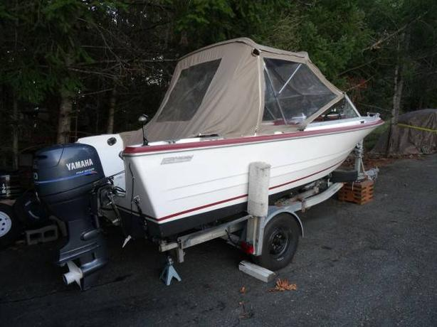 16' K+C WITH YAMAHA 50-4 STROKE OUTBOARD