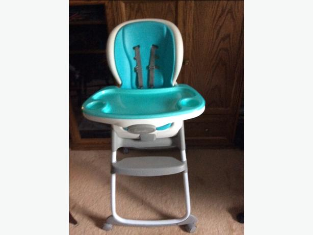 Ingenuity High Chair plus Toddler Smart Chair