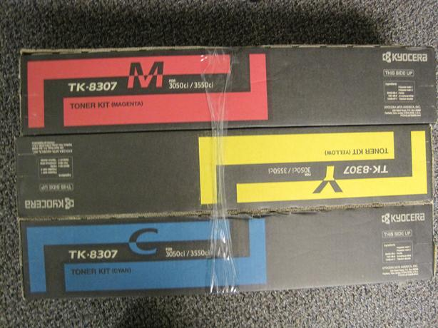 Kyocera Ink Cartridge Set of 3 colours