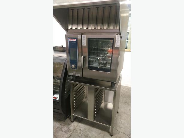 Rationale Electric Combi Oven, Stand and Ultravent Hood