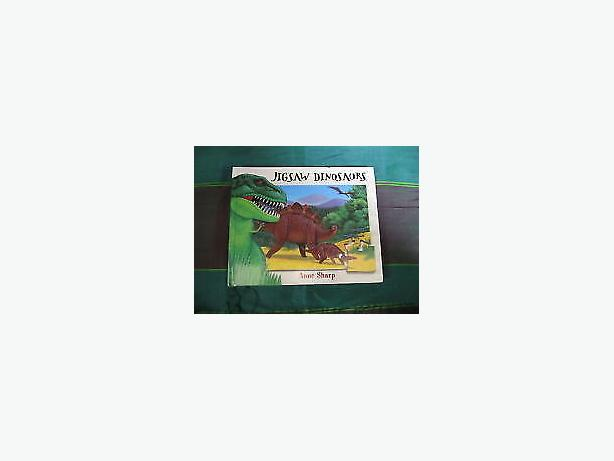 puzzle Jigsaw Dinosaurs book  , recreating 6 puzzle