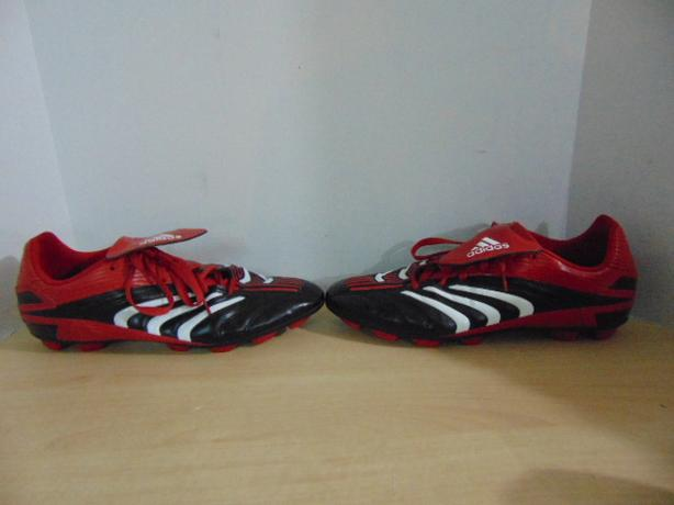 dcc747f942e Soccer Shoes Cleats Men  39 s Size 13 Adidas Traxion Red Black ...