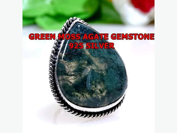 GREEN MOSS 925 SILVER