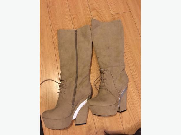 boots/heels size 8 1/2-9 price 20-40 dolloars