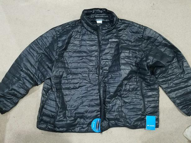 New Black Columbia Insulated jacket 6X XL (Adult)