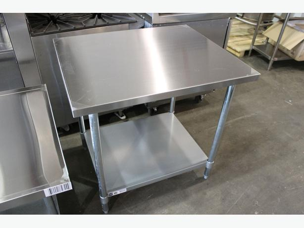 Stainless Steel Tables & Equipment Stands (Dec. 3 Online Auction)
