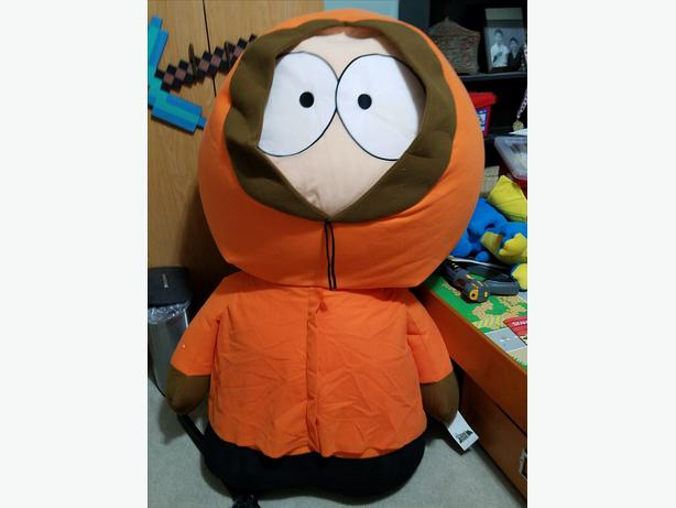 Huge Southpark Kenny Doll (about 4 feet high)