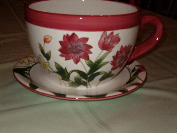 flower planter teacup