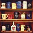 Vintage barware water pitchers