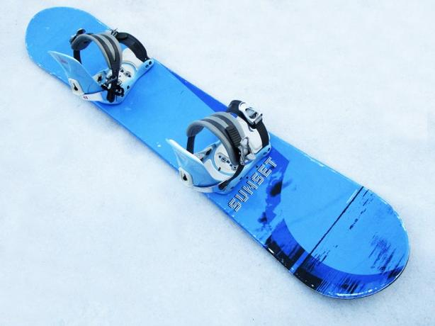 148cm Jibs Style Snowboard ~ Factory Sunset
