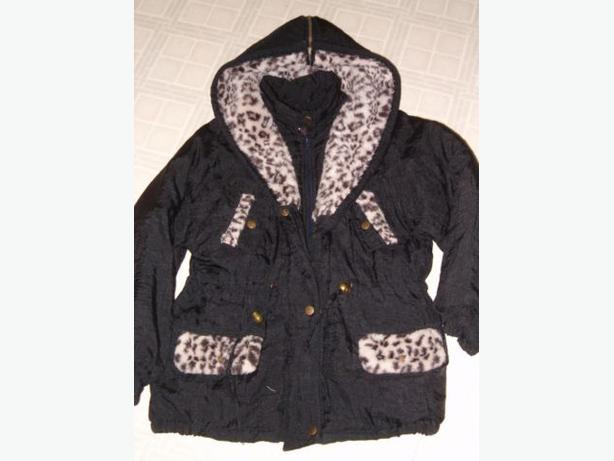 child winter jacket  Leopard print only