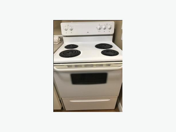 "White Westinghouse 30"" Electric Stove"