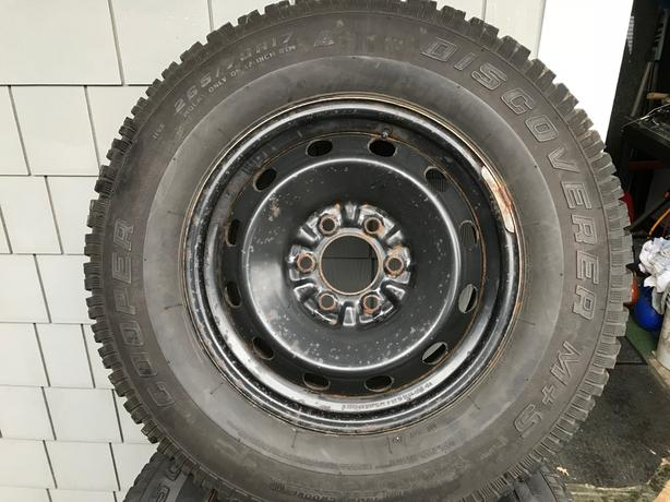 winter tires and wheels for late Ford F150