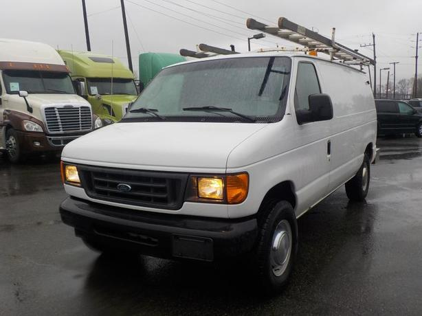 2003 Ford E-350 Cargo Van w/ Shelving, Ladder Rack & Onan Generator