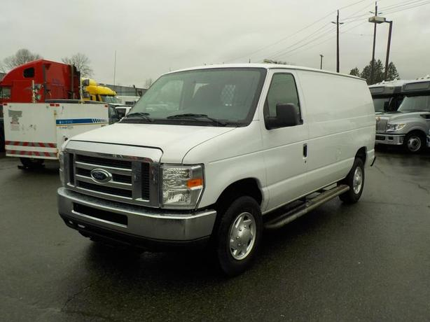2012 Ford Econoline E-250 Cargo Van with Rear Bulkhead