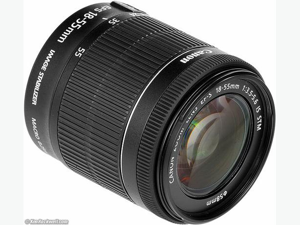CANON Zoom EF-S 18-55 IS STM / latest version