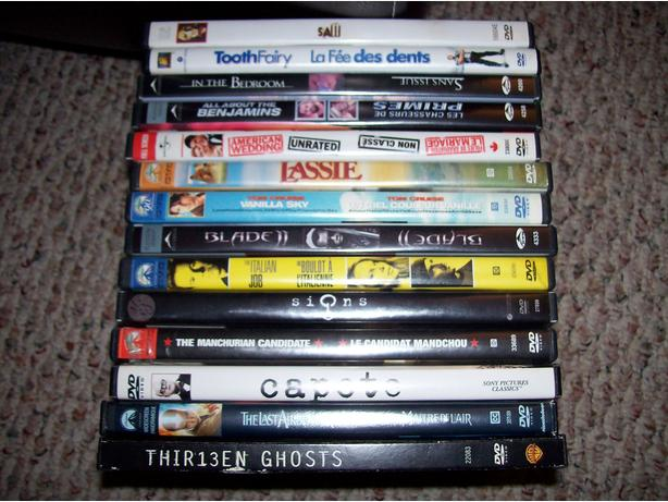 14 DVDS for $15