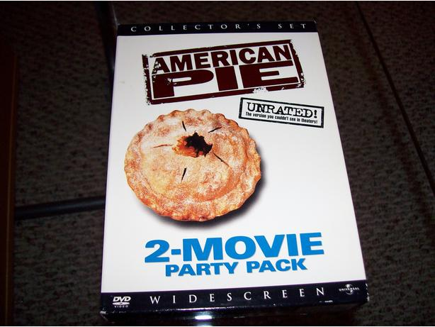 American Pie 1 and 2 DVDs unrated