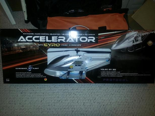 Protocol Accelerator remote control helicopters