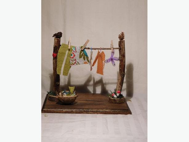 Fairies do laundry