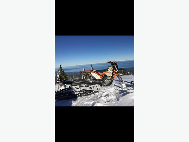 camso dts 129 snow bike kit