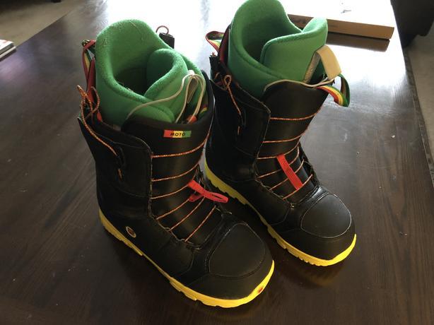 Burton Moto Snowboard Boots Size 8