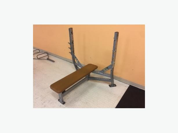  Log In needed $350 · Life Fitness Hammer Strength Olympic Flat Bench