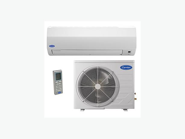 **Ductless heat pump mini split heat/cool**