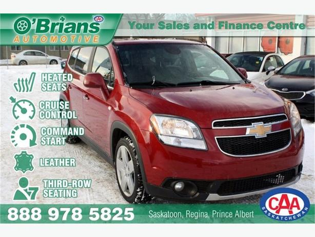 2012 Chevrolet Orlando LTZ w/Leather, Third-row