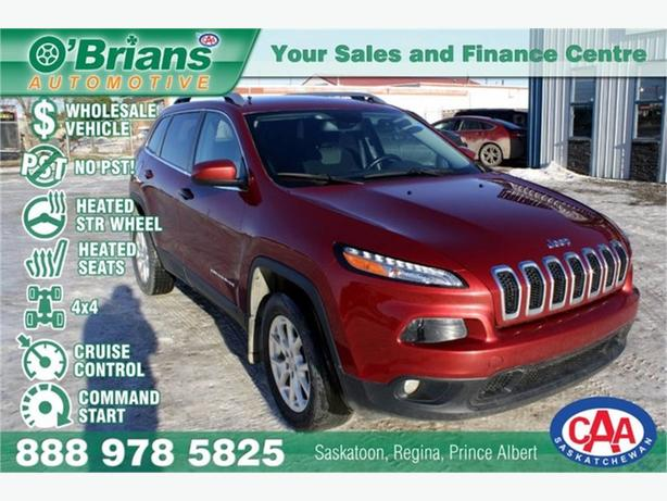 2014 Jeep Cherokee North - No PST, Wholesale Unit w/4x4