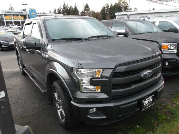 2015 FORD F-150 LARIAT 4X4 SUPERCREW FOR SALE