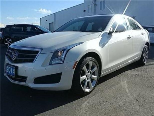 2014 CADILLAC ATS 2.0L Turbo Luxury All Wheel Drive !