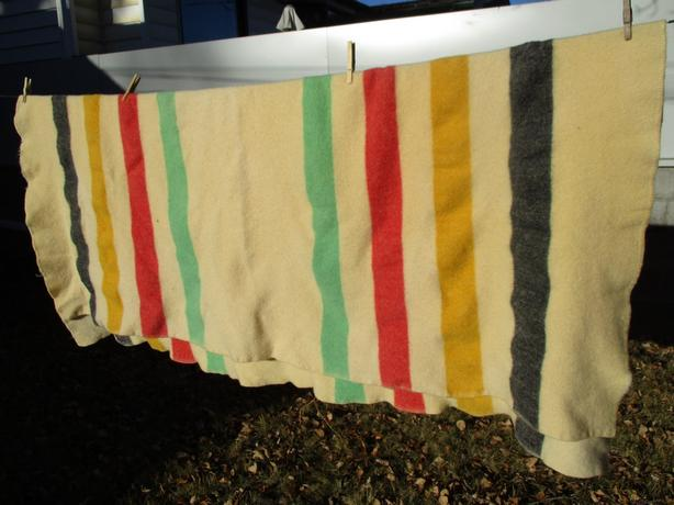HUDSON BAY BLANKET FROM ESTATE
