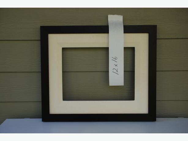 """12"""" x 16"""" Picture Frame For Sale (mahogany with liner #2008-010)"""