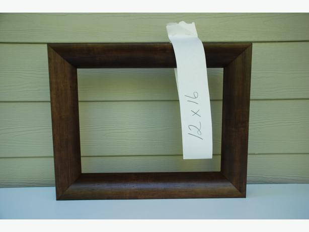 """12"""" x 16"""" Picture Frame For Sale (lighter brown #2011-078)"""