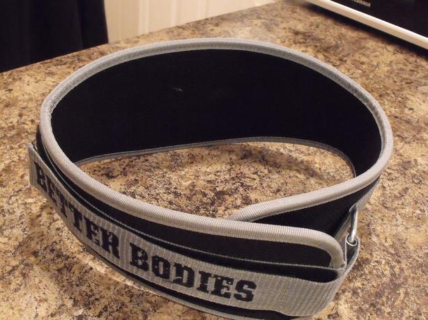 """Better Bodies"" Pro lifting Belt"