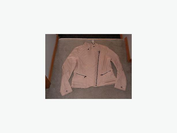 jacket ,light pink ,med size,tag