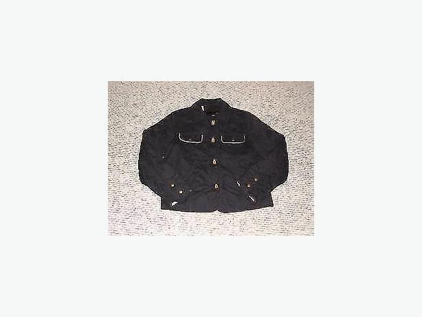 jacket black utex p/s,