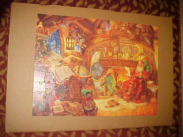 ST. NICHOLAS IN HIS STUDY JIGSAW PUZZLE