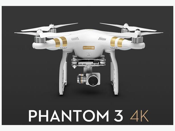 DJI Phantom 3 Professional Quadcopter 4K Video Camera Drone