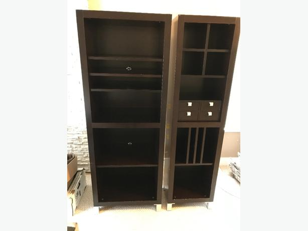 entertainment unit/bookshelves