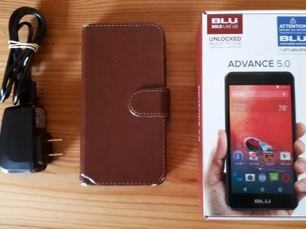 Blu Unlocked Cellphone ( located in Victoria)