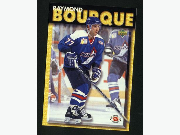 95/96 Post/Upper Deck Ray Bourque