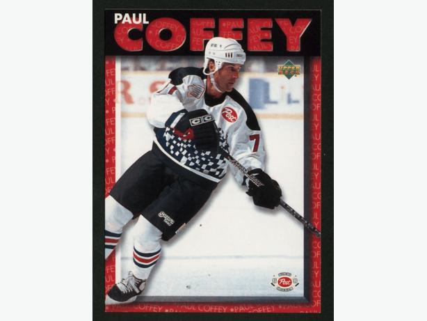 95/96 Post/Upper Deck Paul Coffey