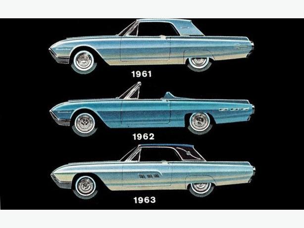1961-63 thunderbird parts
