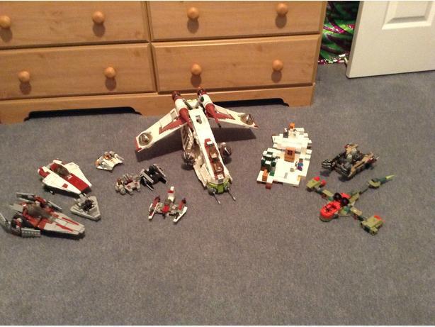 Lego Star Wars/MineCraft/Legochima